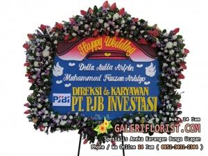 Bunga Papan Wedding Sidoarjo | PWSDA-02